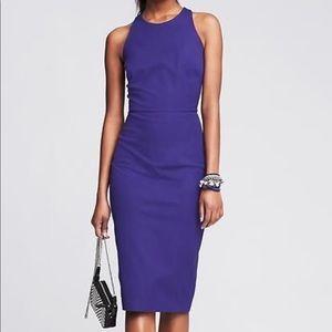 Banana Republic violet dress
